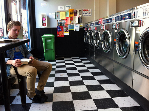 Men and Laundry