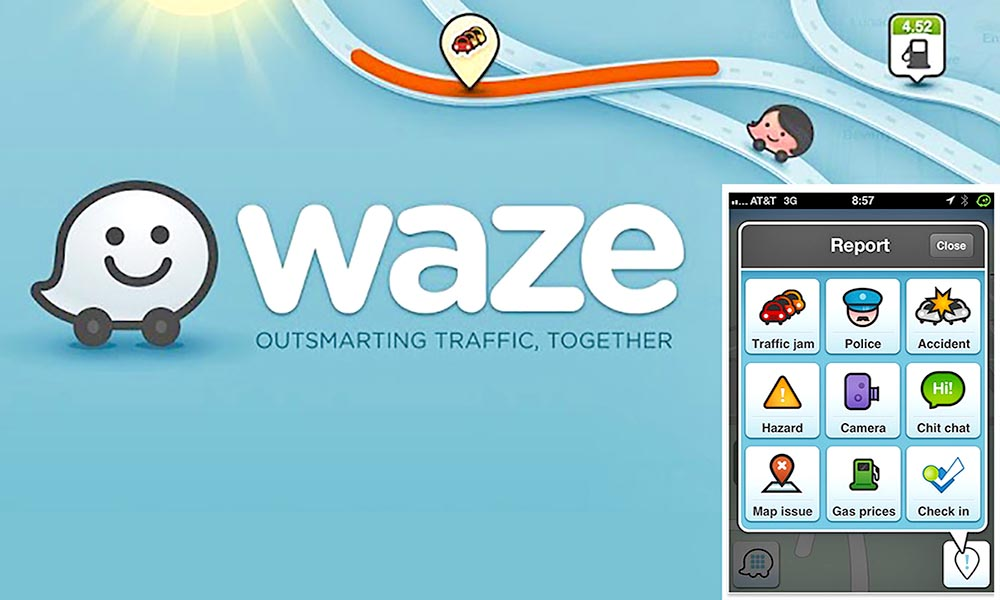 6 Mobile Apps That Help You Reduce Your Carbon Footprint 3a Waze from Animal New York