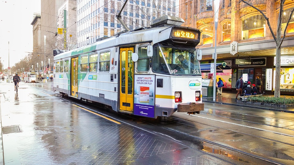 trams in Melbourne good transportation system
