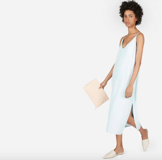Everlane The Japanese GoWeave Long Slip Dress – $88