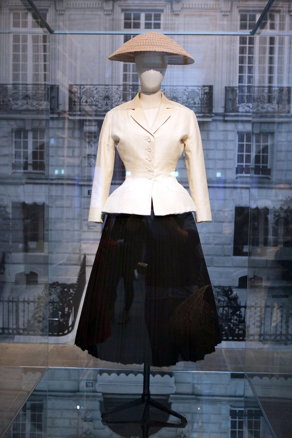 The Bar Suit 1947. The House of Dior- Seventy Years of Haute Couture. Photo credit: Eco Warrior Princess