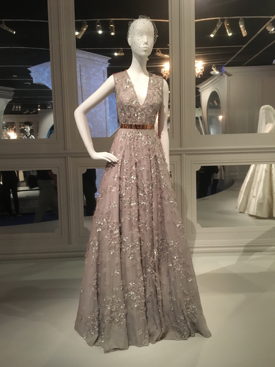 The House of Dior- Seventy Years of Haute Couture. Photo credit: Eco Warrior Princess