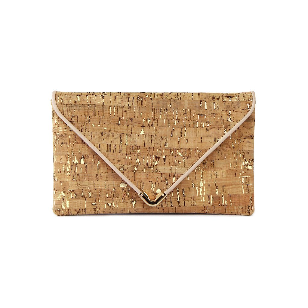 Cate Cork Clutch Vegan Bag from Ethical Gallery