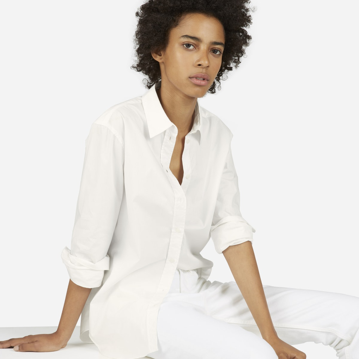 Ethical Brand - Everlane Relaxed Poplin Shirt