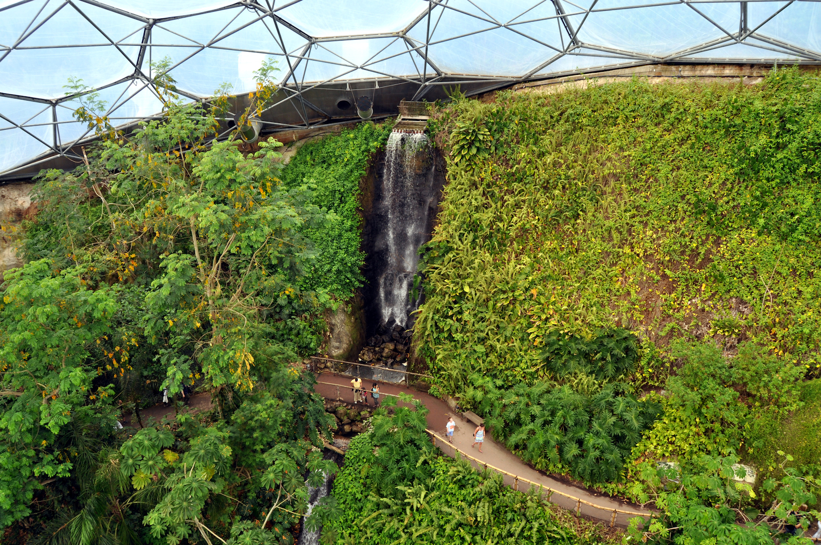 The Eden Project - Man Made Sustainable Forest