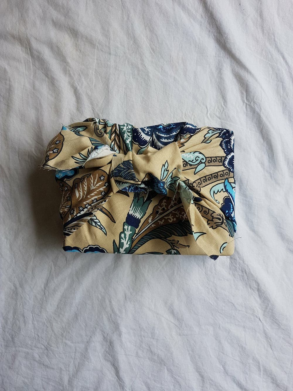 Furoshiki, the Japanese art of fabric wrapping and knot tying