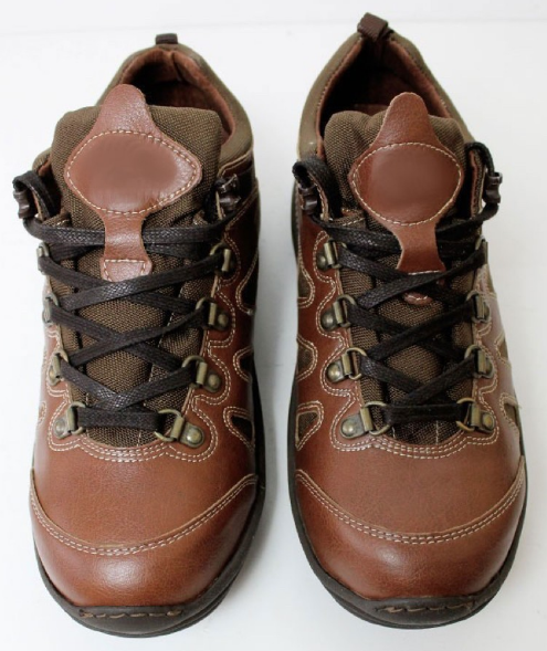 Chestnut Vegan Hiking Boots from Wills Vegan Shoes