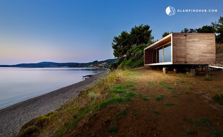Tiny House on a Private Beach in Northern Greece