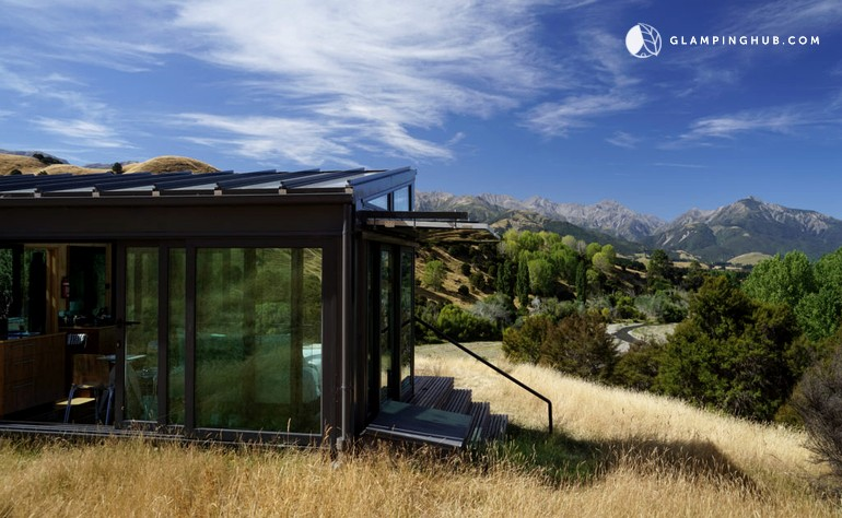 Unique Eco-Pod Accommodation near Kaikoura in the South Island of New Zealand