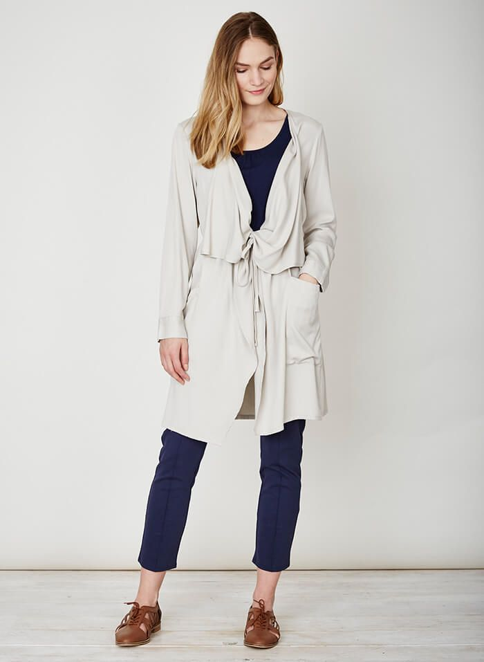 Thought Clothing 'Loire' Modal:Bamboo Viscose Throw Ethical Wrap Cardigan