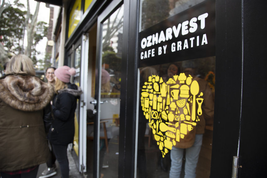 OzHarvest and Cafe Gratia Join Forces To Launch Australia's First No Food Waste Pop-Up Cafe