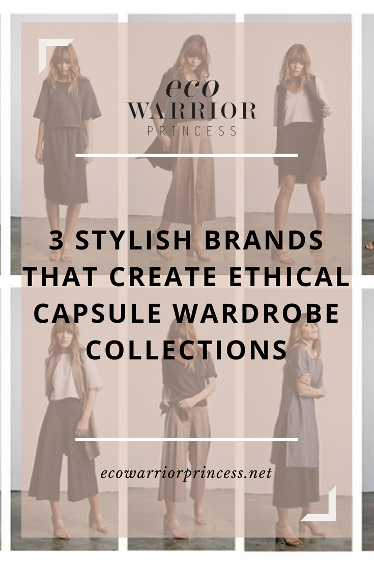 3 Stylish Brands That Create Ethical Capsule Wardrobe Collections