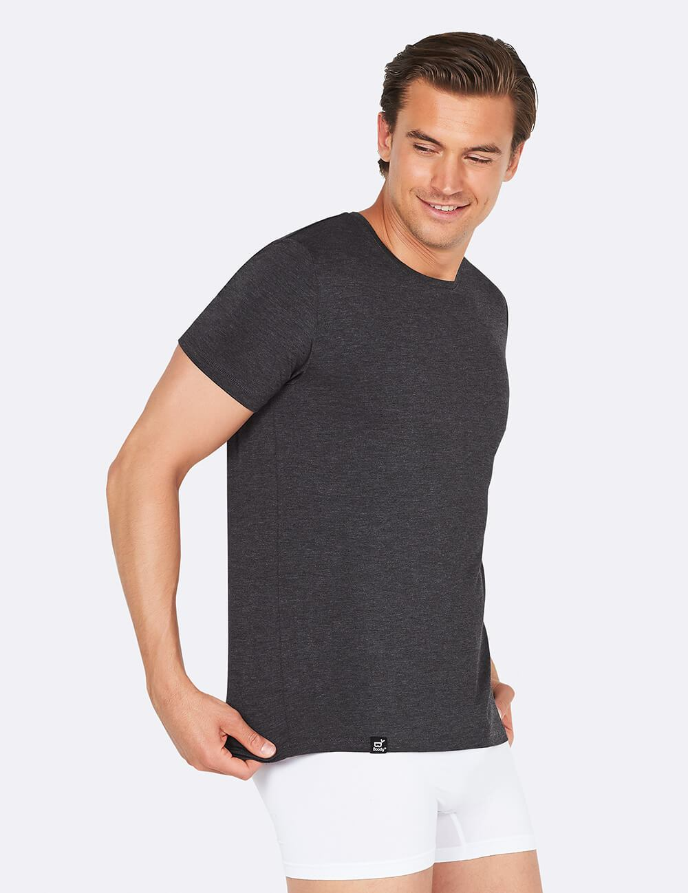 Boody Men's Crew Neck T-shirt Ethical Sustainable tees