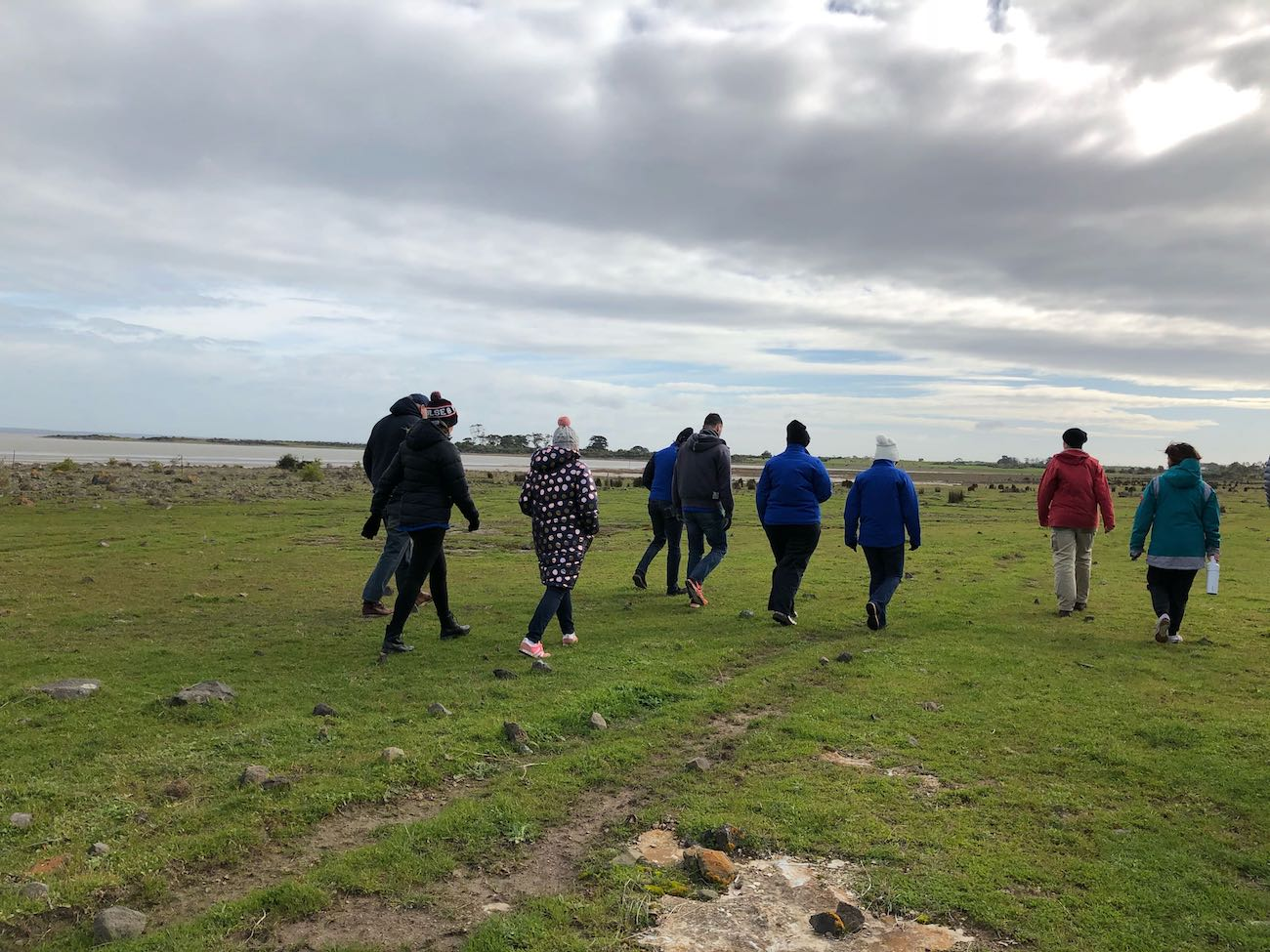 Greening Australia Project Office Candice Parker takes us on a guided walking tour around Lake Corangamite