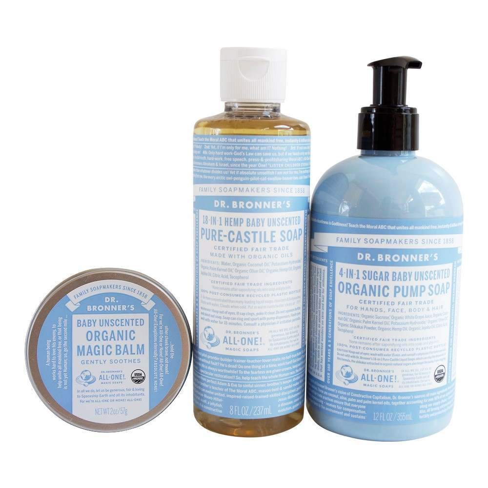 Dr Bronner's Baby Essentials Kit - The Clean Collective