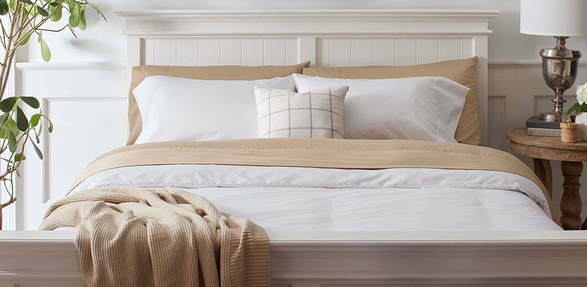 GOTS certified organic cotton bedding sheets from Grund America