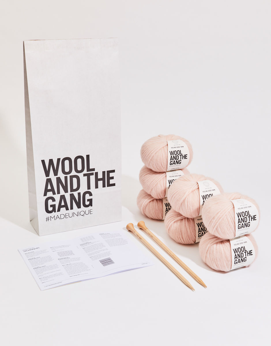 Wool and the Gang Knitting Kit