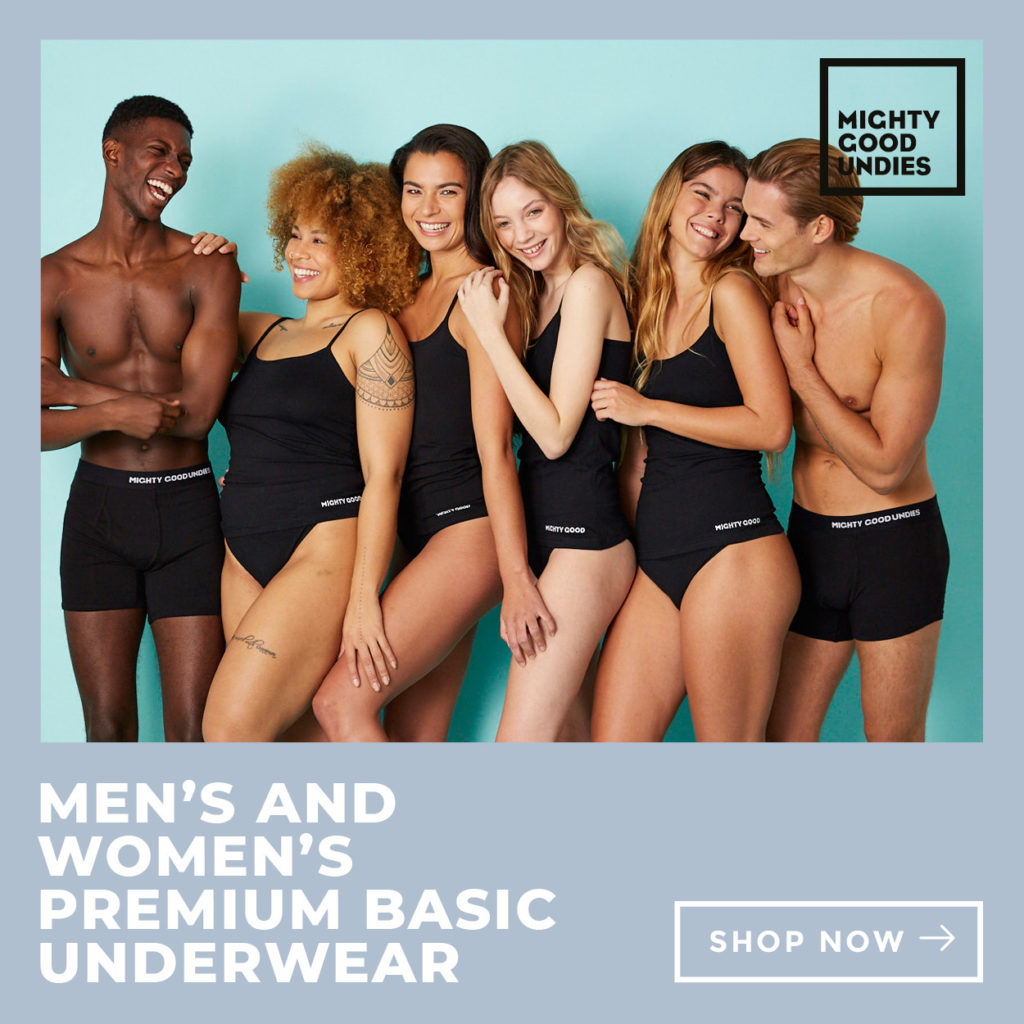 Mighty Good Undies Women's Eco-Friendly Underwear Giveaway (valued at $155)