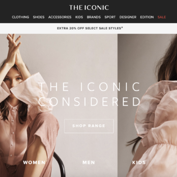 Australasia's E-Commerce Giant THE ICONIC Takes Mainstream Shoppers into Sustainable Fashion Territory
