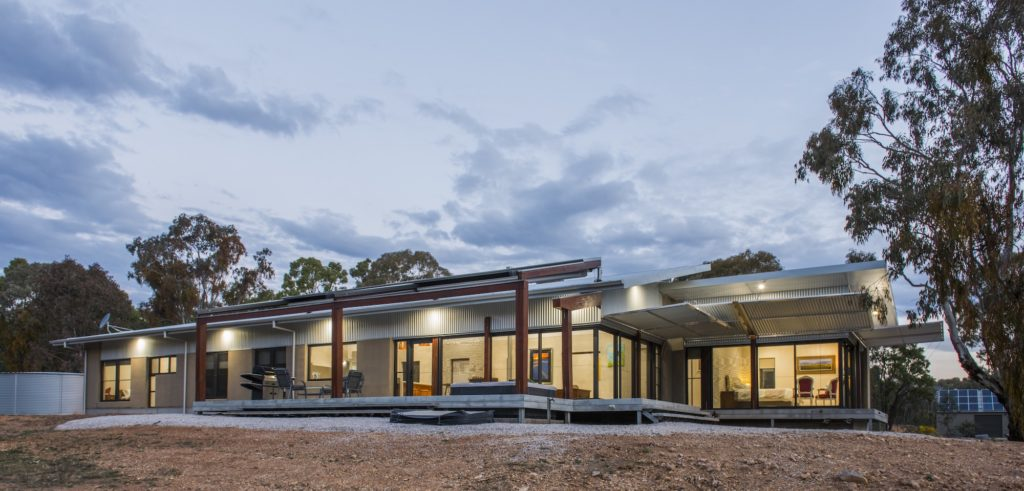 Hempcrete, The Sustainable Building Material That Won This Mudgee House an Award- External