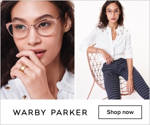 Warby parker advert