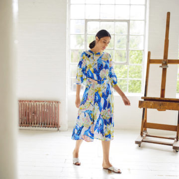 Thought Clothing: Contemporary Prints, Romantic Dresses and Sustainable Work Style
