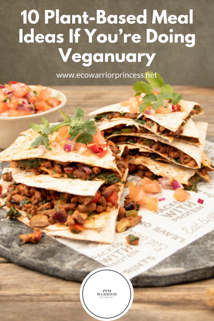 10 Easy Plant-Based Meal Ideas If You're Doing Veganuary